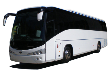 Umrah Logistics offers bus transportation to its customers